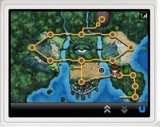 inCluder イッシュのマップをよくみてみた。