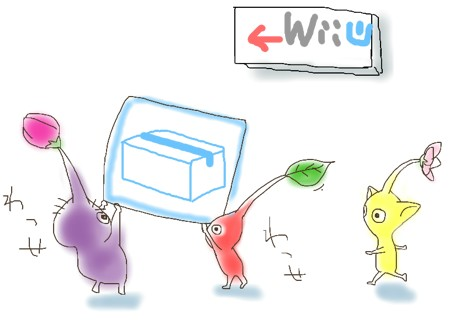 WiiからWii Uへの引越し完了