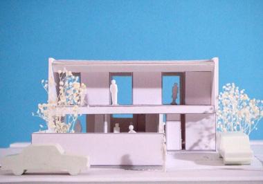 香澄の家_模型