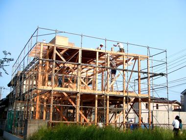 香澄の家_建て方