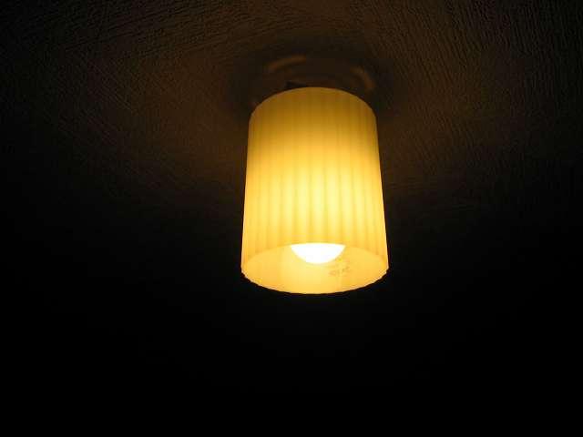 パナソニック電工 小型シーリングライト LB55519 と パナソニック 60形 電球形蛍光灯 パルックボール EFA12EL 電球色