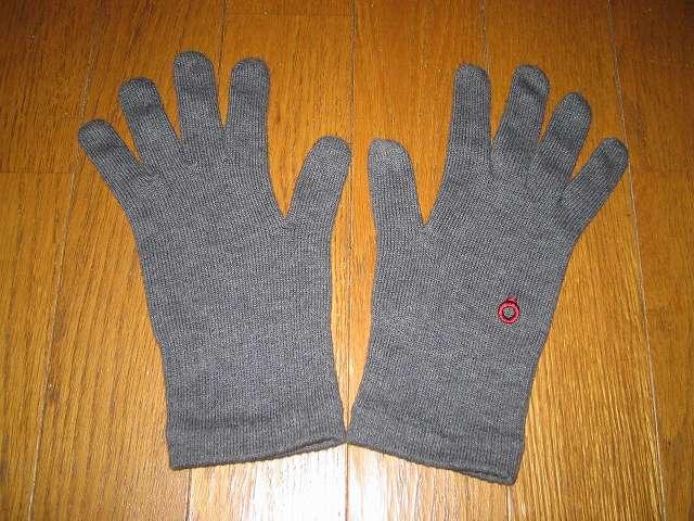 楽天 841(やよい) フィット手袋 サイズ L グレーミックス