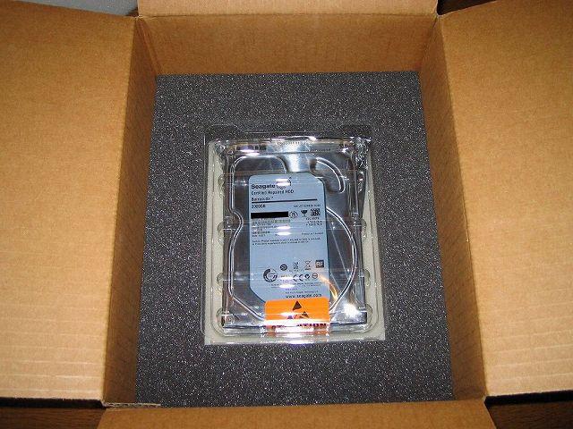 Seagate HDD RMA HDD 梱包用ダンボール 静電気防止プラスチック・ケース(SeaShell)