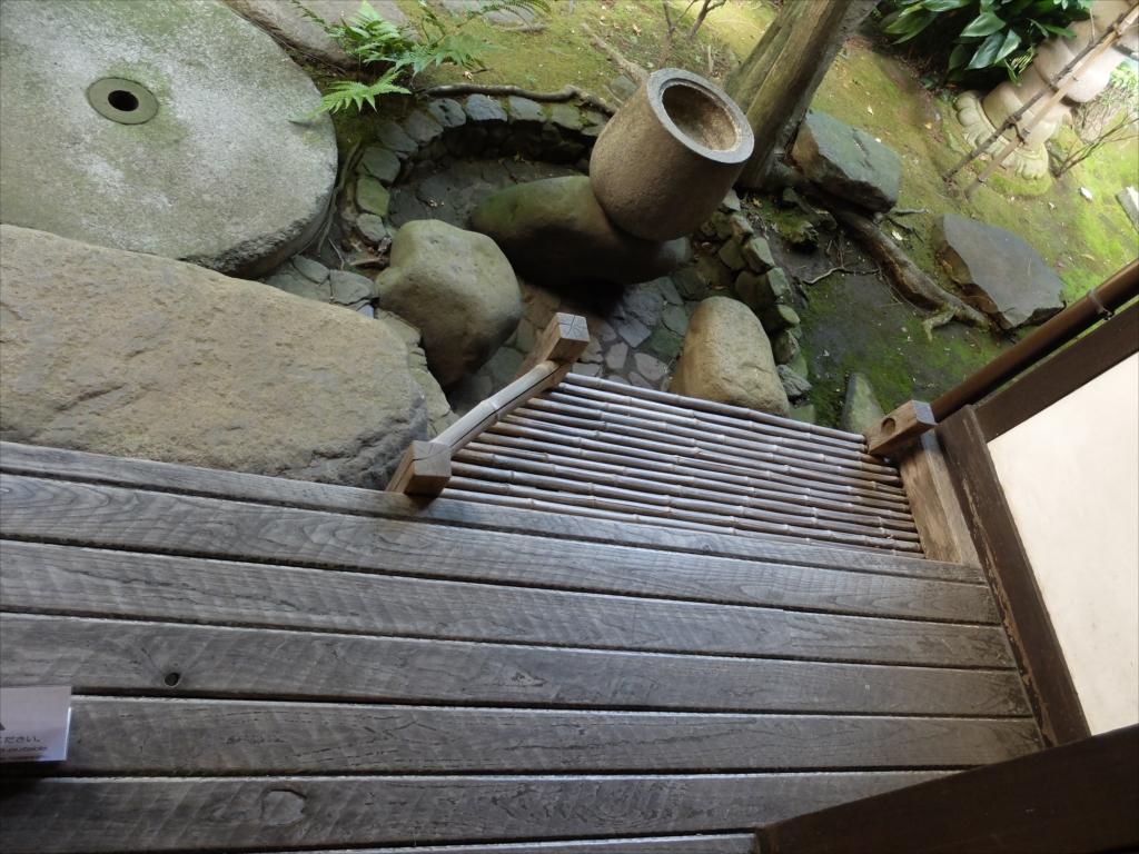 杉の間の廊下に接した上り口_1