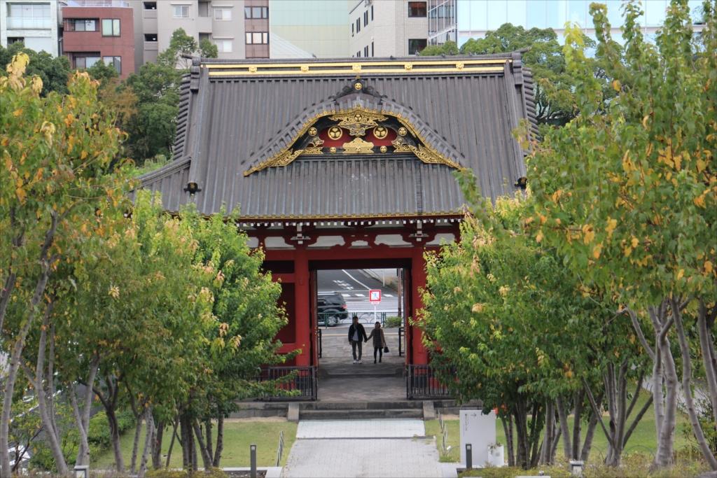 台徳院霊廟 惣門_1
