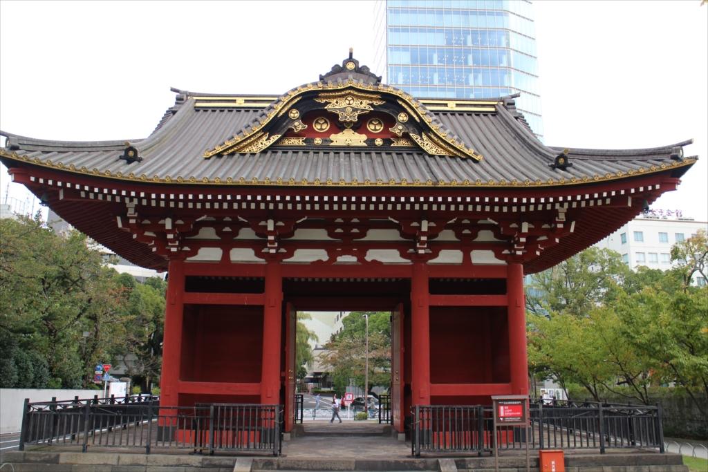 台徳院霊廟 惣門_2