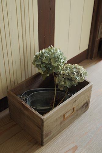 アンティーク風木箱
