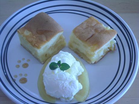 アップルクリームケーキ