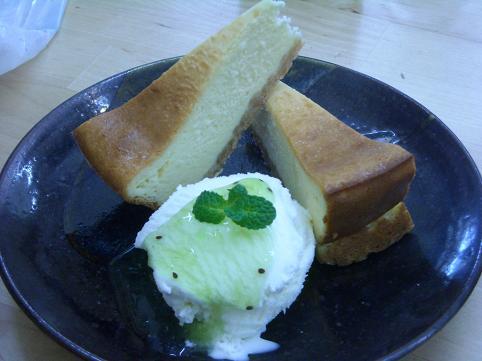 蝶美味しいチーズケーキ