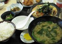マグロカツ鍋定食