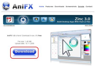 AniFX ダウンロード