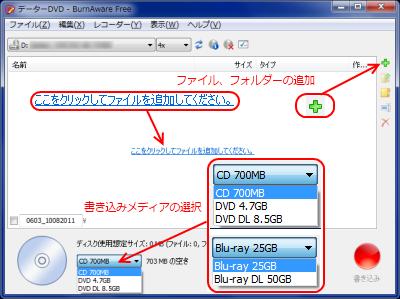 データーのコピー ファイル追加