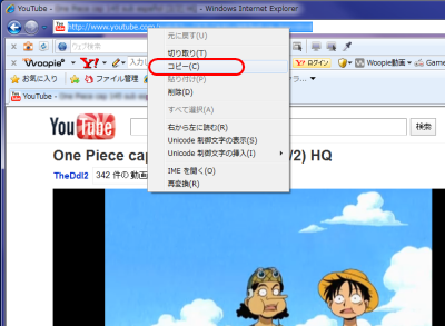 Freemake Video Converter動画配信サイトからインポート