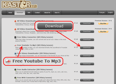 Kastor Youtube To Mp3 ダウンロード