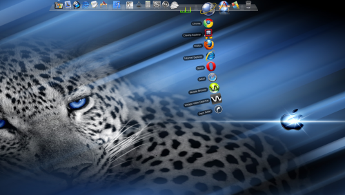 RK Launcher iVista Leopardスクリーンショット