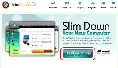SlimComputer ダウンロードページ