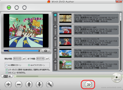 Video DVD Author 次のステップ
