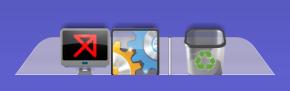 XWindows Dock5.6初期状態