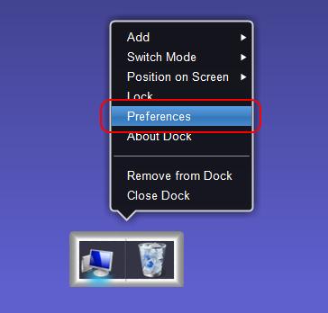 XWindows Dock 2.0.2 の設定