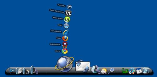 ObjectDockスクリーンショット