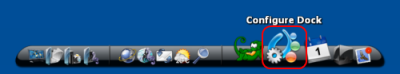 ObjectDock Configure Dock