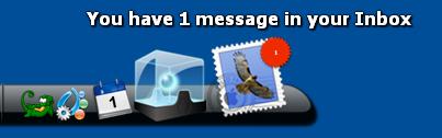 Check Mail Dockletスクリーンショット