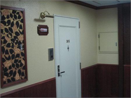 恐怖の303号室