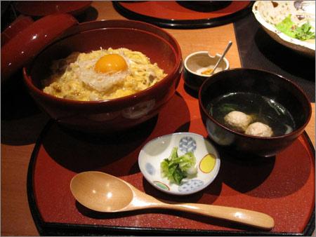 京風親子丼