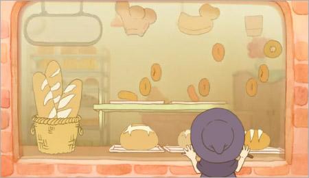 魔法のようにあらわれるパン