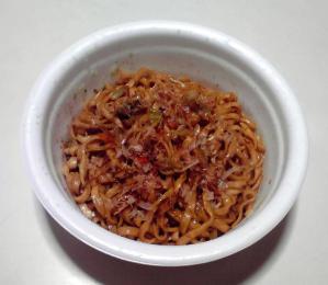 どん兵衛 焼うどん だし醤油味(2013年)(できあがり)
