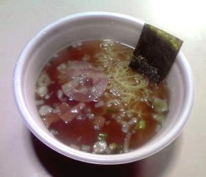 凄麺 青森煮干中華そば(できあがり)