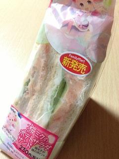 桜ミクのポテトサラダサンド