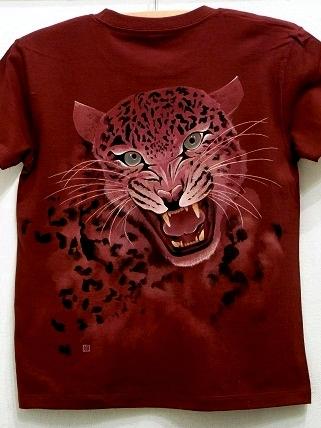 Tシャツ 豹 2010 6 12 b