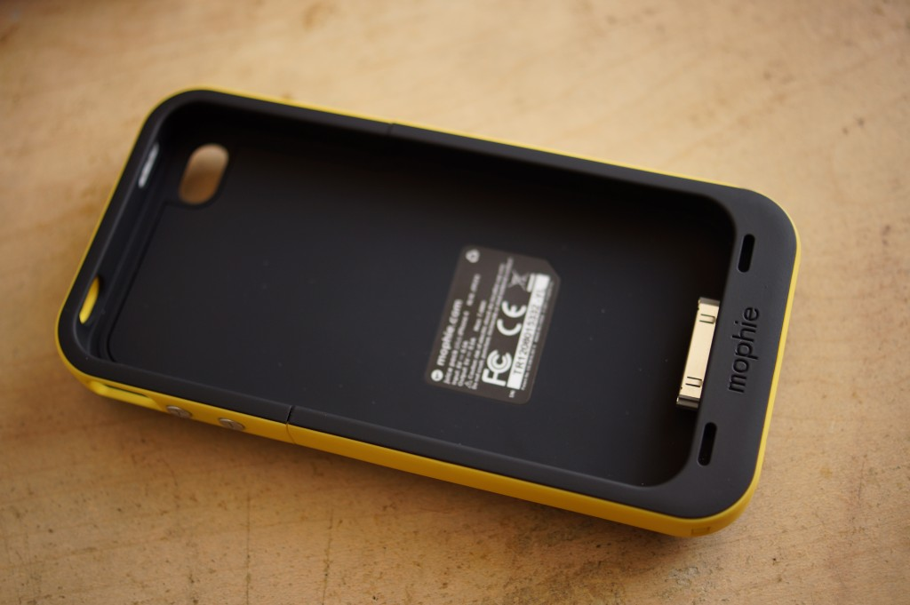 iPhone4S/4用のバッテリーケース、mophie juice pack plusを買ってみた