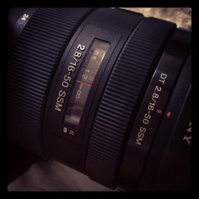 DT16-50mm f2.8 SSM 購入!