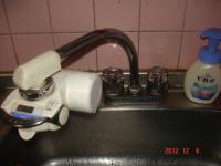 既存のツーハンドル混合栓