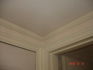 枠周り塗装・壁紙張替(クロス張替)した洗面所