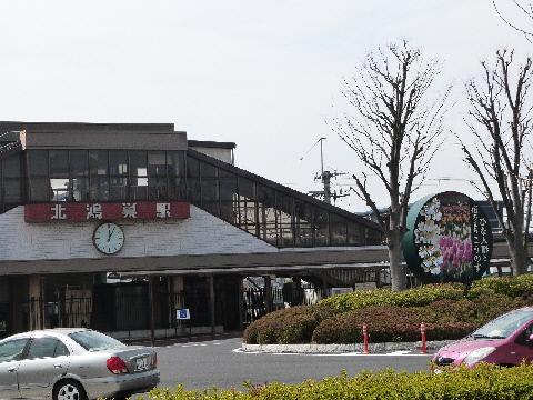 北鴻巣駅東口 ひな人形と花のまち こうのす
