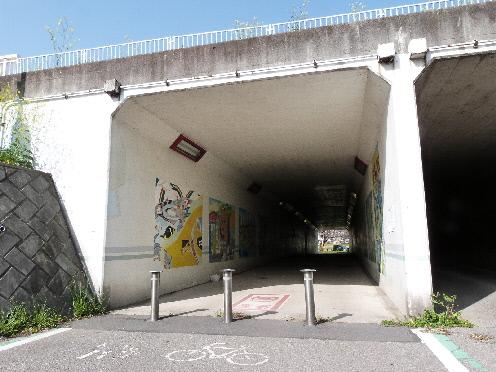 さきたま緑道 タイムトンネル