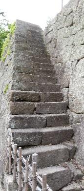 鶴ヶ城石段①