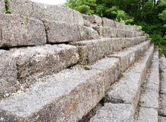 鶴ヶ城石段②