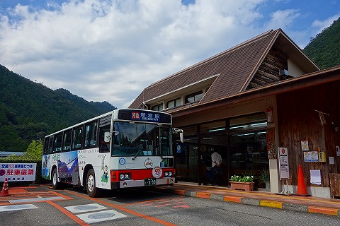十津川バスターミナル