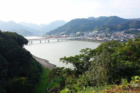 新宮城から熊野川