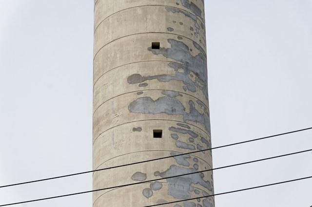 東京都営高砂アパート給水塔の塔体