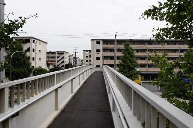 都営辰巳一丁目アパート1の歩道橋