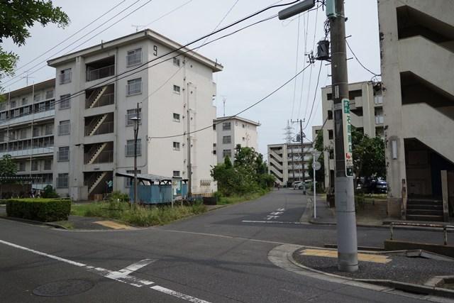 東京都営高砂アパートのボックス型住棟