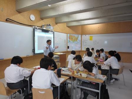 武南社会授業