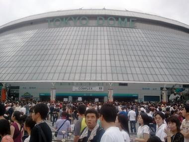 流石 東京ドーム!