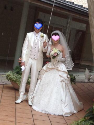 Yちゃん、結婚式3