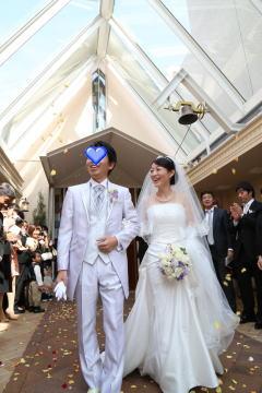 さしこちゃん、結婚式2